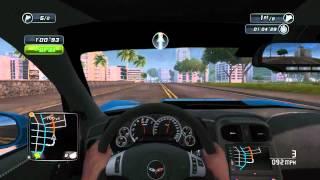 (PC) TDU 2 Gameplay - Downtown Race