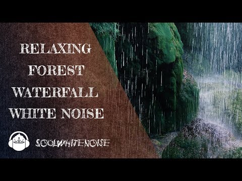 Relaxing Forest Waterfall | Nature's Best White Noise For Sleep
