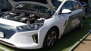 Auto eléctrico presente en Exponor