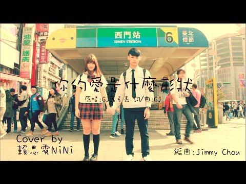 J.Arie 雷琛瑜 -《你的愛是甚麼形狀》Cover By 賴思霓NiNi 青澀版