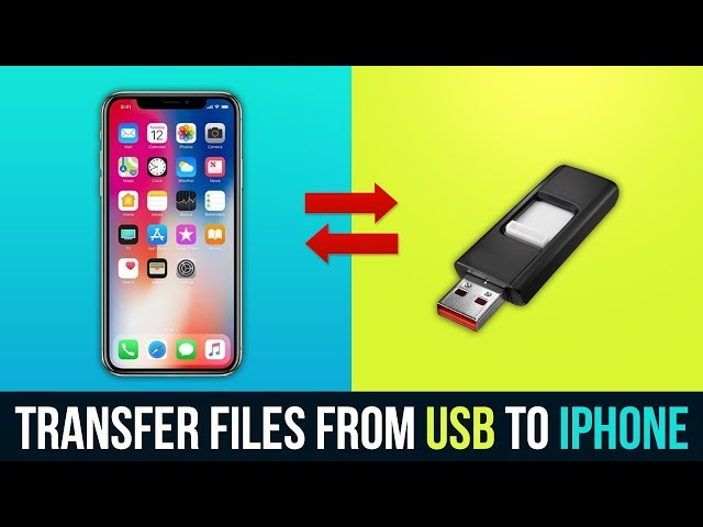 2 Ways to Transfer Files from USB to iPhone (Without Computer) USB Flash Drive for iPhone