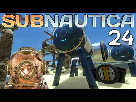 "Subnautica Gameplay Ep 24 - ""Island Sea Base Summer House!!!"" 1080p PC"
