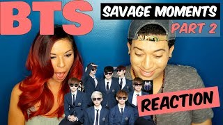 BTS SAVAGE MOMENTS PART 2 | Prepare to laugh and die..again!