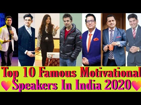 Top 10 Motivational Speakers in India 2021 | Famous Motivational Speakers in India