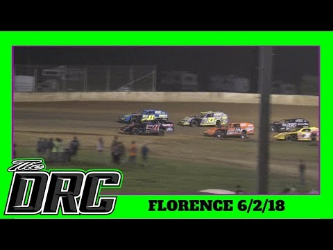 Florence Speedway | 6/2/18 | Open Wheel Modifieds