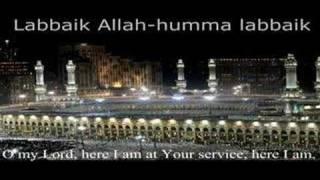 Labbaika ALLAHUMA labbaik  لبيك اللهم لبيك لبيك