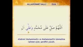 Allahümme Salli Duâsı