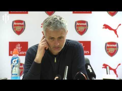 Jose Mourinho: Wenger Pressurises Officials | Arsenal 2-0 Manchester United