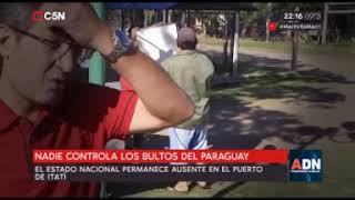 TOMÁS MÉNDEZ - ADN- ITATÍ NADIE CONTROLA LOS BULTOS DE PARAGUAY (03-06-2018)