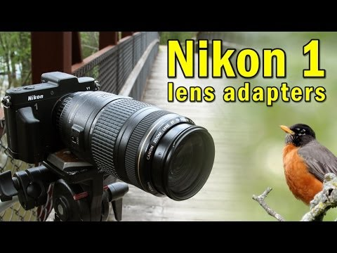 Mount Almost Any Lens On Your Nikon 1 Camera With Fotodiox Nikon 1 Lens Adapters