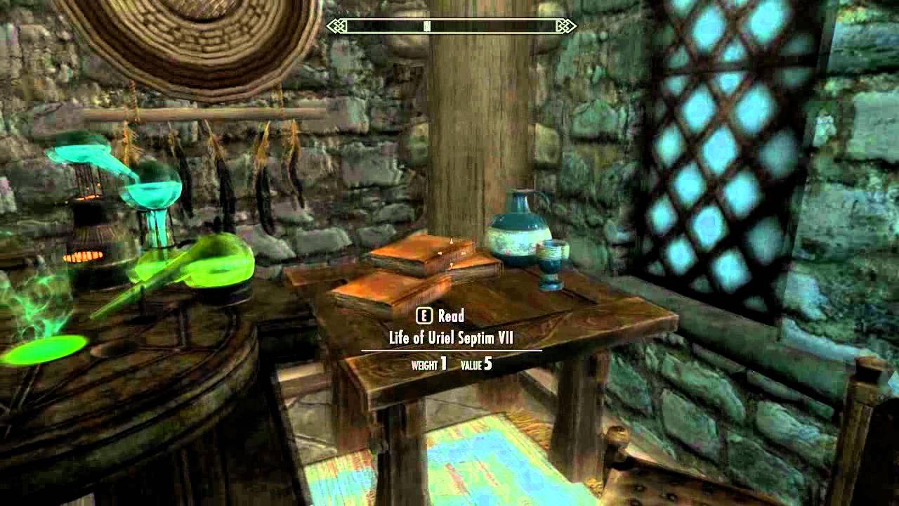 skyrim breezehome alchemy lab missing glitch bug fix pc youtube