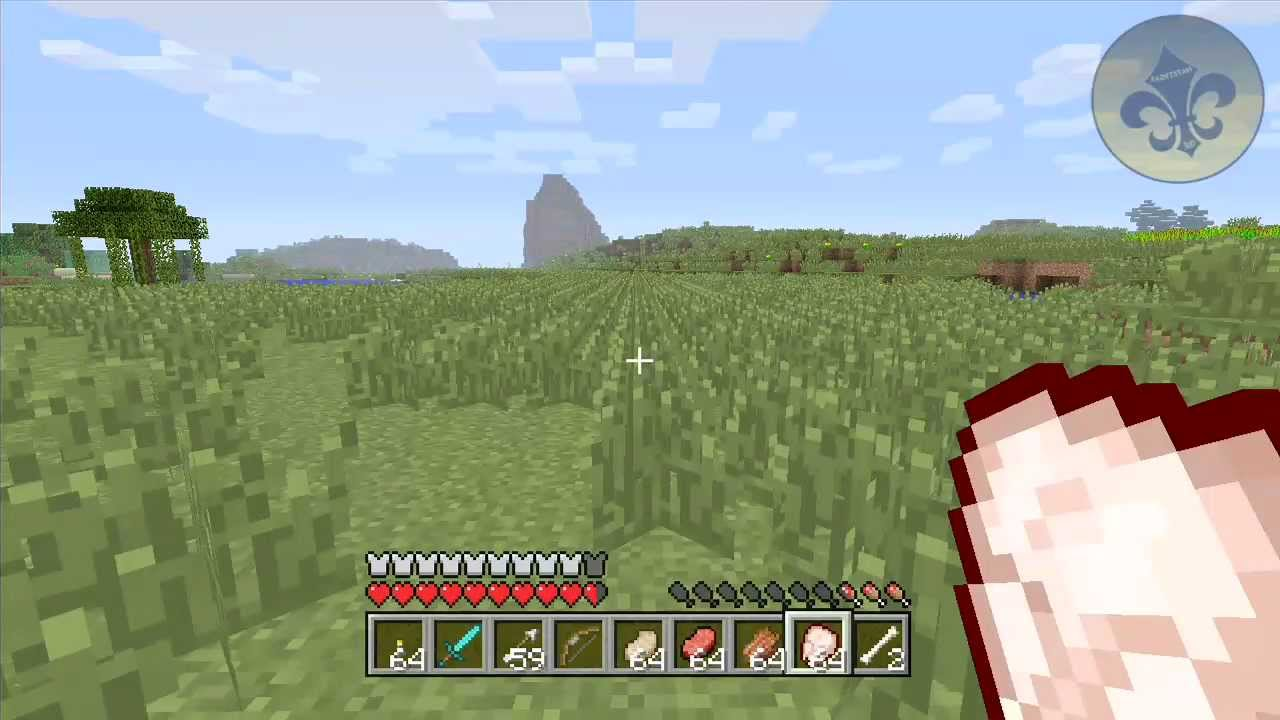 Minecraft Xbox 360 TIPS AND TRICKS FOOD BAR AND