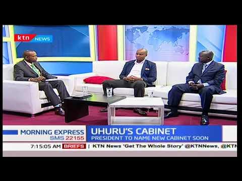 President Uhuru to name new cabinet - Morning Express