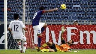 FULL MATCH: Laos vs Malaysia - AFF Suzuki Cup 2012