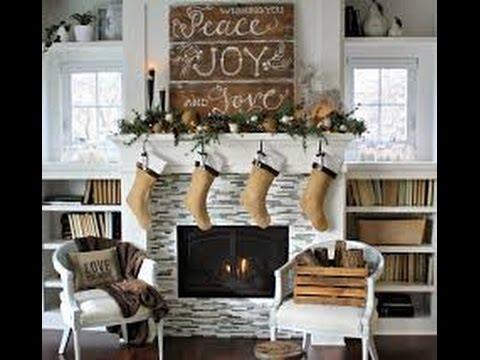 Navidad Con Estilo Rustico 100 Ideas Sencillo Y Hermoso