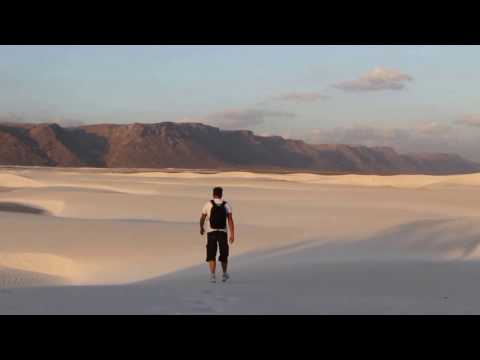 "Yacht ""Milashka"". Socotra. White sand of Socotra."