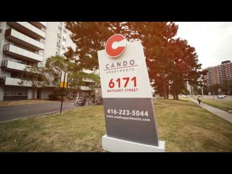 Toronto apartments for rent, located at 6171 Bathurst St managed by Cando Apartments
