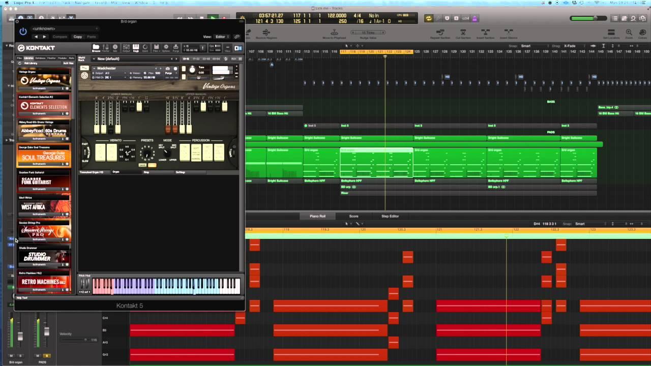 Making a house organ bass deep house tutorial youtube for Classic house organ bass