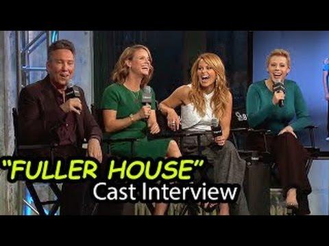 FULLER HOUSE Cast & Creator Interview | Netflix TV Series | February 26th, 2016