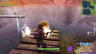 Fortnite: Battle Royale - Search Between Three Boats Week 8 Battle Pass Challenge Location