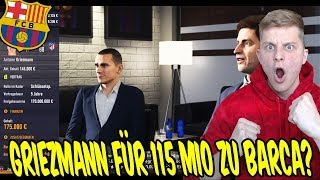 Das COMEBACK des JAHRES + GRIEZMANN für 115 MIO kaufen? ⚽ Fifa 18 Karrieremodus Fc Barcelona 01