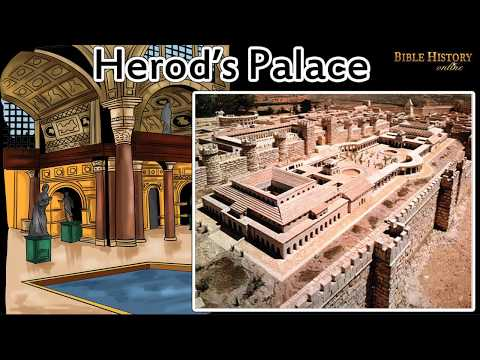 Herod's Palace - Interesting Facts