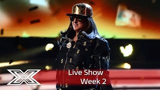 It's Honey G time on Motown Week| Live Shows Week 2  | The X Factor UK 2016