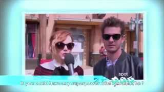 andrew garfield and emma stone answer fan questions 2014