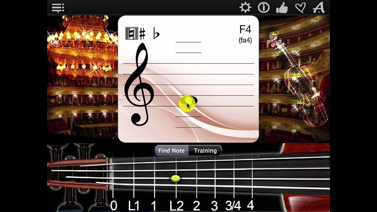 Violin Notes Finder App