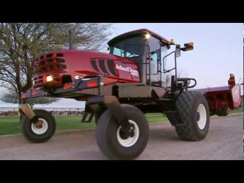 Introducing MacDon's M Series Windrowers