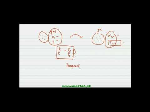 FSc Chemistry Book1, CH 3, LEC 3: Charles Law