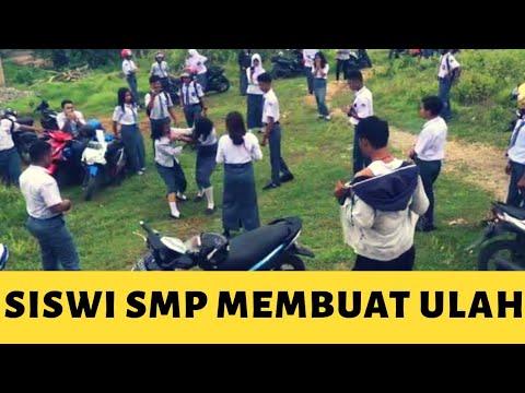 SISWI SMP2 TANJUNGPINANG BERKELAHI VIRAL