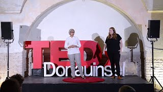 Why are we afraid of refugees? | Ahlam Alaqili & Carina Schmid | TEDxDonauinsel