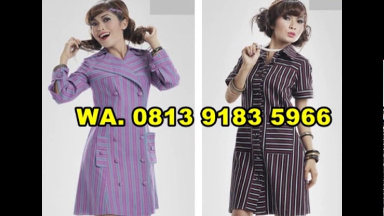 10 Model Baju Wanita Lurik Wa 0813 9183 5966 Youtube