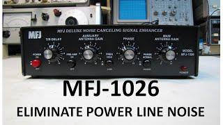 Download lagu MFJ 1026 Operation Totally Eliminate Power Line Noise MP3