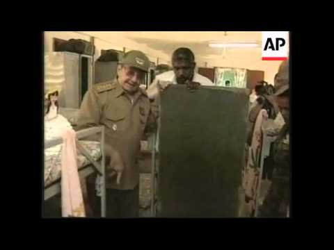 Quality version of Raul Castro on detainees at Guantanamo