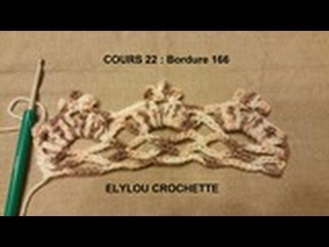 Cours N22 Crochet Bordure 166 Facile