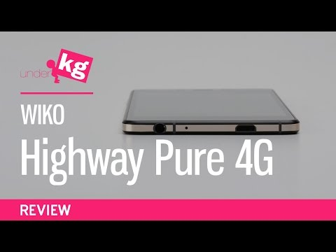 Wiko Highway Pure 4G Review [4K]