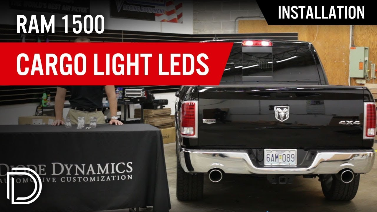 hight resolution of how to install cargo light led bulbs for 2013 2019 dodge ram diode dynamics