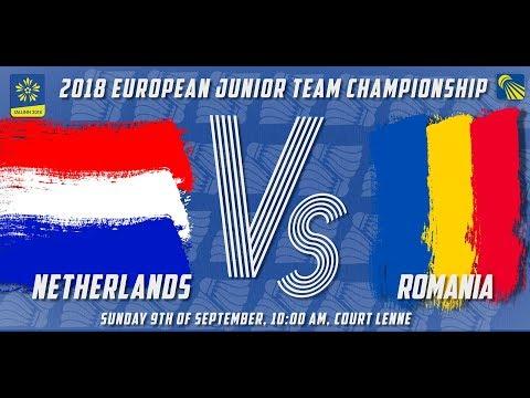 Netherlands vs Romania - Day 3 - 2018 European Jnr. Team C'ships
