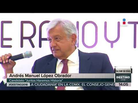 AMLO llega en Moto a reunión con el CIRT | Noticias con Yuriria Sierra