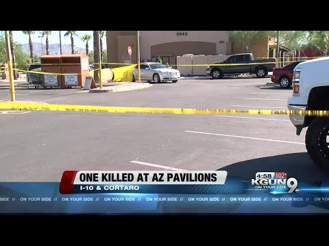 One person dead, one in custody at Arizona Pavilions shooting