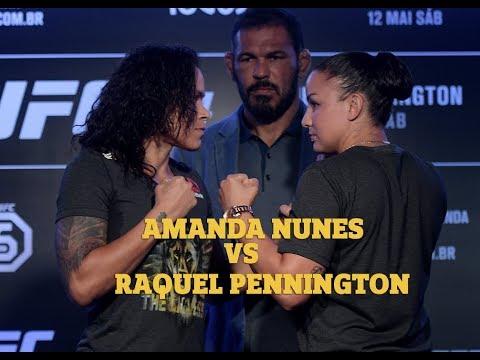 UFC Rio: Amanda Nunes Vs Raquel Pennington
