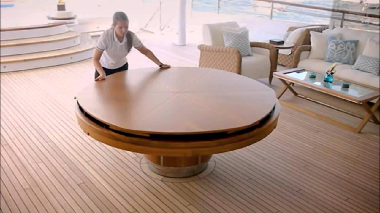 Isso sim mesa mesa redonda que aumenta de tamanho for Grande table extensible