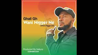Ghali is one of the best hausa rapper in gh he drop a new banger called wani nigger ne which means (which that) there was saying that anther br...