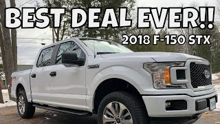 2018 F-150 STX Review w/ PRICE REVEAL!!