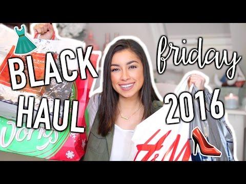 BLACK FRIDAY HAUL 2016! - TRY ON HAUL! | Jeanine Amapola