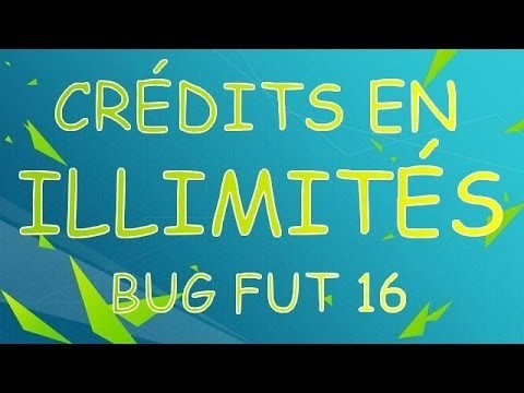 FUT 17 : GLITCH / CREDIT EN ILLIMITE