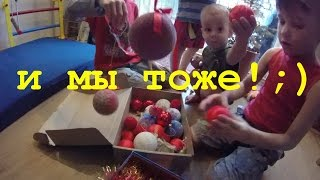 vlog: Коля без зуба, шиємо іграшки самі, ялинка в горщику