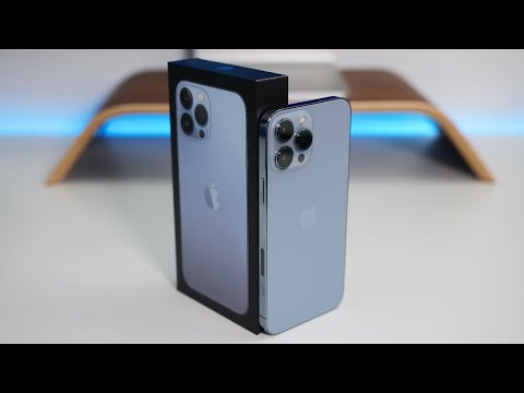 iPhone 13 Pro Max - Unboxing, Setup and First Look